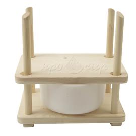 Пресс для сыра деревянный (стандарт)